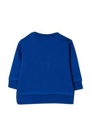 Felpa neonato blu con stampa BOSS KIDS | -108764232 | J05892829