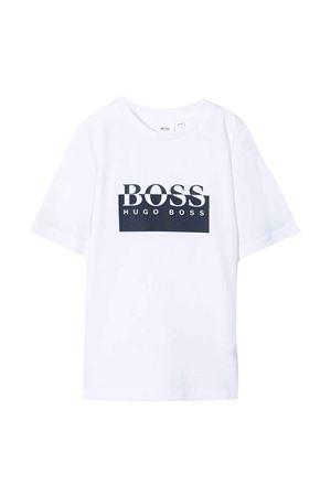 white t-shirt  BOSS KIDS | 8 | J25L5410B