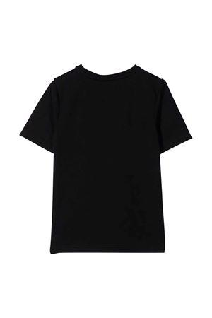 unisex black t-shirt  BOSS KIDS | 8 | J25L7109B