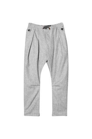 Pantaloni grigi teen Brunello Cucinelli Kids   9   B038PP101C511T