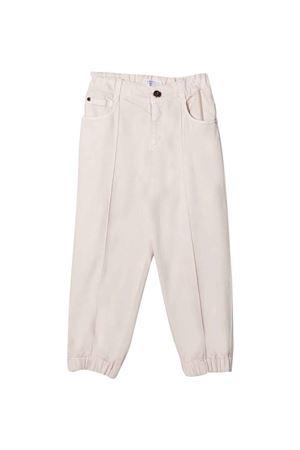 Pantaloni panna teen Brunello Cucinelli Kids | 9 | B0H43P454C9443T