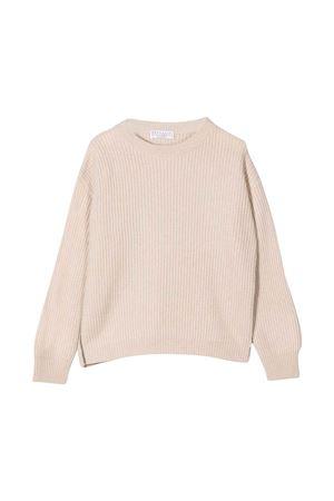 cream sweater  Brunello Cucinelli Kids   7   B12M71100CN058