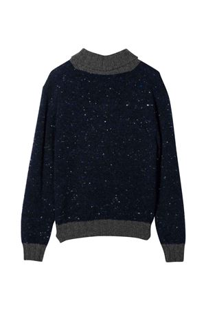 teen blue sweater Brunello Cucinelli Kids | 5032346 | B46M72402CXD35T