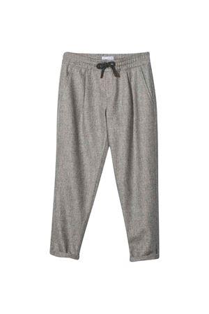 Pantaloni grigi Brunello Cucinelli Kids   9   BA428P503C001