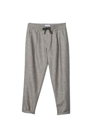 Pantaloni grigi teen Brunello Cucinelli Kids   9   BA428P503C001T