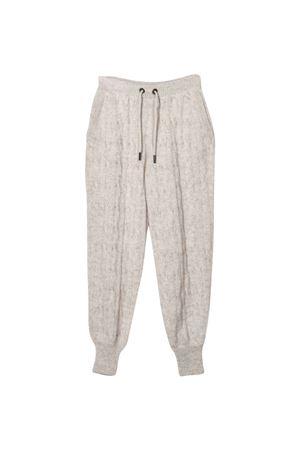 Pantaloni panna teen Brunello Cucinelli Kids | 9 | BBGM70499C1538T