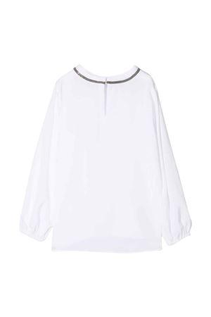 teen white girl blouse  Brunello Cucinelli Kids   7   BF948T430C159T