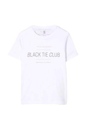 white teen t-shirt  Brunello Cucinelli Kids | 7 | BH894S152C6159T