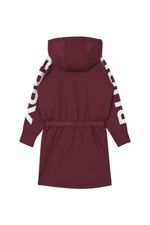 Burgundy dress with hood  BURBERRY KIDS | 11 | 8040872A1308