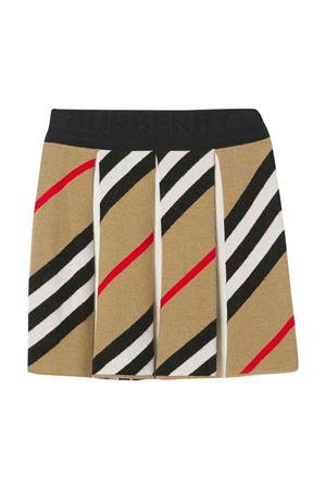 Beige pleated skirt BURBERRY KIDS | 15 | 8040946A7029