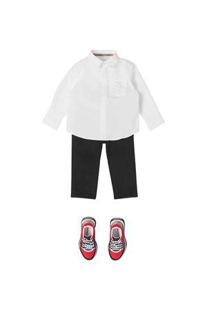 Camicia bianca neonato BURBERRY KIDS | 5032334 | 8040986A1464