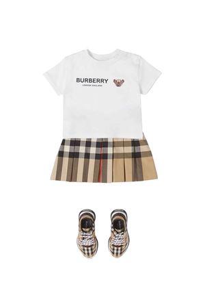 T-shirt unisex bianca BURBERRY KIDS | 8 | 8041053A1464