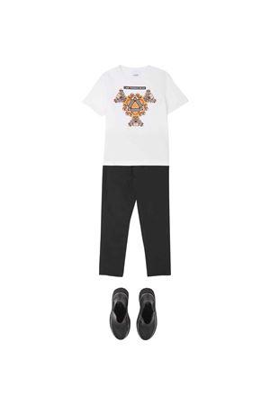 T-shirt bianca unisex BURBERRY KIDS | 8 | 8041229A1464