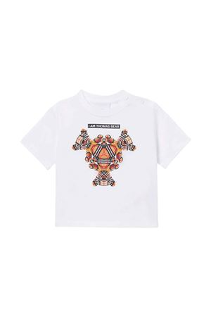 T-shirt bianca neonato BURBERRY KIDS | 8 | 8041231A1464
