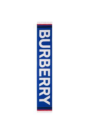Sciarpa blu BURBERRY KIDS | 77 | 8041245A1650