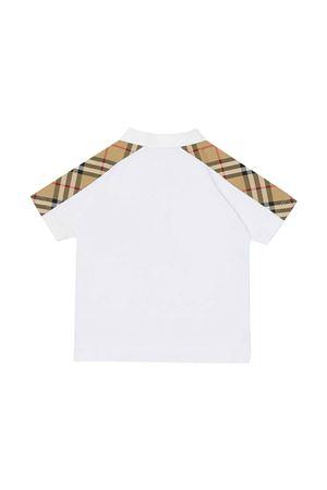White polo shirt  BURBERRY KIDS | 2 | 8042312A1464