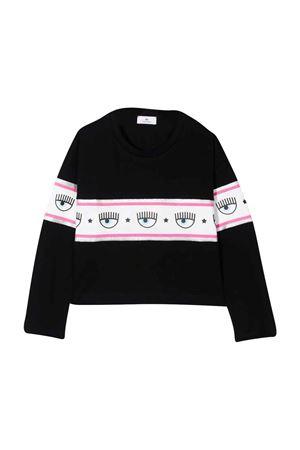 Black girl t-shirt  CHIARA FERRAGNI KIDS | 8 | 51860182050050