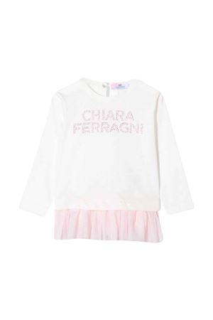 T-shirt bianca neonata CHIARA FERRAGNI KIDS   8   53860282060190