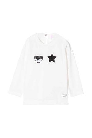 T-shirt bianca neonata CHIARA FERRAGNI KIDS   8   53860482060001