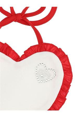 Bavetta bianca e rossa con applicazioni Chiara Ferragni kids CHIARA FERRAGNI KIDS | 5032339 | 55800080200143