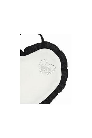 Bavetta bianca e nera con applicazioni Chiara Ferragni kids CHIARA FERRAGNI KIDS | 5032339 | 55800080200150