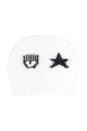 white baby cap  CHIARA FERRAGNI KIDS | 1901739980 | 55800680660001