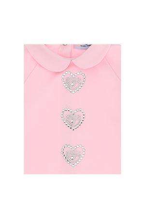 Tutina rosa con applicazioni Chiara Ferragni kids CHIARA FERRAGNI KIDS | 1491434083 | 55820080200090
