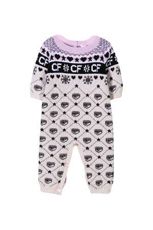 lilac baby girl romper CHIARA FERRAGNI KIDS | 1491434083 | 55820580650290
