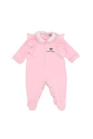 Tutina rosa con logo Chiara Ferragni kids CHIARA FERRAGNI KIDS | 1491434083 | 55821080200090