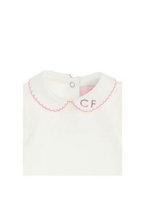 Body bianco con applicazione Chiara Ferragni kids CHIARA FERRAGNI KIDS | 32 | 55860080200190