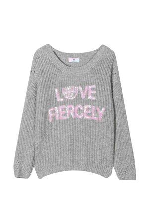 Gray shirt  CHIARA FERRAGNI KIDS | 7 | 59860980400032