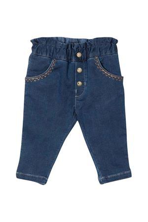 Jeans blu neonata CHLOÉ KIDS | 9 | C04198Z10