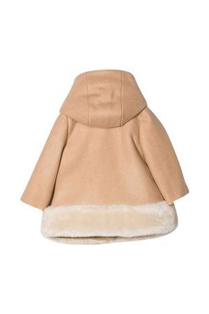 Brown hooded coat CHLOÉ KIDS   17   C06124231