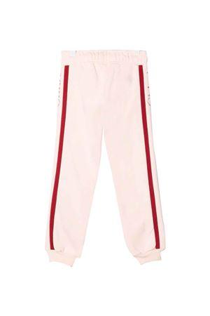 pink sporty striped trousers CHLOÉ KIDS | 9 | C1467945F