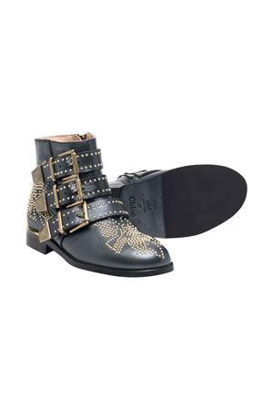 Black girl boots  CHLOÉ KIDS | 12 | C1914009B