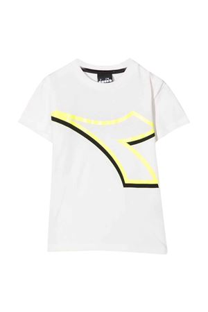 T-shirt bianca teen DIADORA JUNIOR | 8 | 028786002T