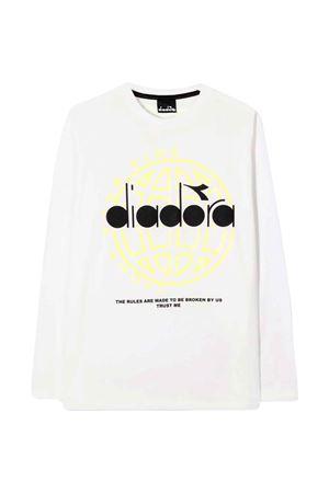 T-shirt bianca bambino DIADORA JUNIOR   8   028787002