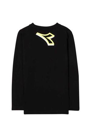 T-shirt nera bambino DIADORA JUNIOR | 8 | 028787110