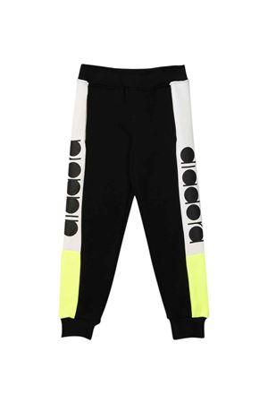 Jogging pants neri bicolore teen DIADORA JUNIOR | 9 | 028798110T