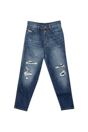 Jeans blu bambina DIESEL KIDS | 00J4HKKXB9JK01
