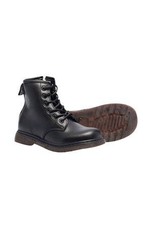 Unisex black combat boots DIESEL KIDS | 12 | BC0515PR013T8013
