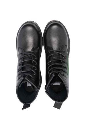teen black combat boots DIESEL KIDS | 12 | BY0515PR013T8013T