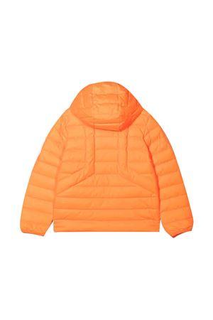 Orange down jacket DIESEL KIDS | 3 | J00223KXB9AK328