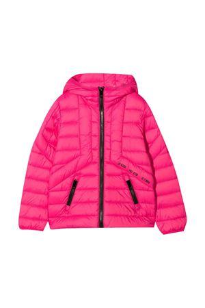 Pink down jacket DIESEL KIDS | 3 | J00223KXB9AK369