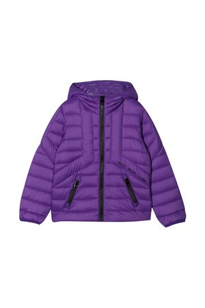 Purple down jacket DIESEL KIDS | 3 | J00223KXB9AK636