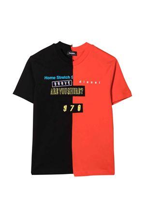 T-shirt bicolore teen DIESEL KIDS | 7 | J002290CATMK437T