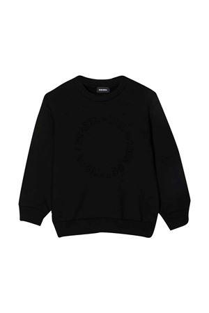 Black sweatshirt  DIESEL KIDS | -108764232 | J002830GRALK900