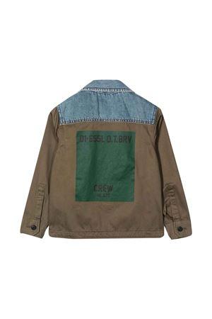 Green jacket DIESEL KIDS | 3 | J00296KXBARK50M
