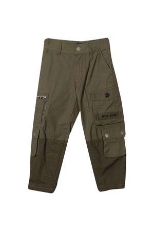 Green trousers DIESEL KIDS | 9 | J003560KBAAK50M