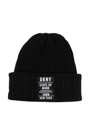 Berretto nero a coste DKNY KIDS | 75988881 | D3127809B